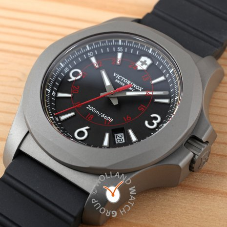 Titanium swiss diving watch with case guard Fall Winter Collection Victorinox Swiss Army