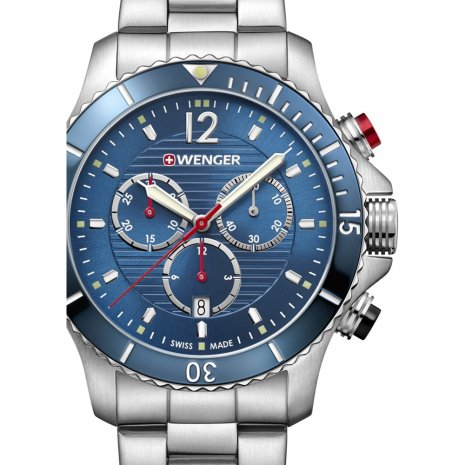 Swiss Made Gents Quartz Chronograph Diver Spring Summer Collection Wenger